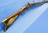 * Antique MARKED R.B.FULL TIGER STRIPE KENTUCKY RIFLE ENGRAVED INLAYS