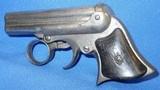 * Antique 1863 REMINGTON ELLIOT DERRINGER 4 SHOT .32 RF