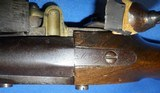 * Antique 1811 FIRST EMPIRE MAUBEUGE FRENCH FLINTLOCK MARTIAL PISTOL - 13 of 19