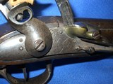 * Antique 1811 FIRST EMPIRE MAUBEUGE FRENCH FLINTLOCK MARTIAL PISTOL - 4 of 19