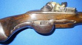 * Antique 1811 FIRST EMPIRE MAUBEUGE FRENCH FLINTLOCK MARTIAL PISTOL - 8 of 19