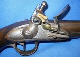 * Antique 1811 FIRST EMPIRE MAUBEUGE FRENCH FLINTLOCK MARTIAL PISTOL - 7 of 19