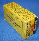 * Vintage 25 STEVENS RF RIMFIRE AMMO CIL CANUCK 50 FULL BOX - 4 of 4