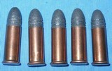 * WINCHESTER .32 RF LONG AMMO 5 CARTRIDGES
