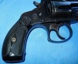 * Vintage 1904 .38 S&W TOP BREAK REVOLVER & FACTORY LETTER BLUE 4th MODEL - 4 of 9