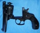 * Vintage 1904 .38 S&W TOP BREAK REVOLVER & FACTORY LETTER BLUE 4th MODEL - 9 of 9