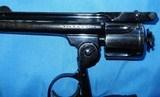 * Vintage 1904 .38 S&W TOP BREAK REVOLVER & FACTORY LETTER BLUE 4th MODEL - 8 of 9