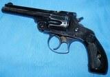 * Vintage 1904 .38 S&W TOP BREAK REVOLVER & FACTORY LETTER BLUE 4th MODEL - 5 of 9