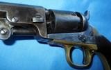 """* Antique 1849 COLT POCKET PERCUSSION REVOLVER 6"""" BBL 6 SHOT 1865 - 7 of 19"""