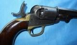 """* Antique 1849 COLT POCKET PERCUSSION REVOLVER 6"""" BBL 6 SHOT 1865 - 13 of 19"""