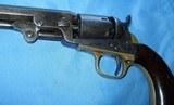 """* Antique 1849 COLT POCKET PERCUSSION REVOLVER 6"""" BBL 6 SHOT 1865 - 3 of 19"""