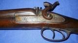 * Antique 1860s Wm. MOORE & Co. PERCUSSION DOUBLE SxS SHOTGUN 12g - 6 of 19