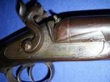 * Antique 1860s Wm. MOORE & Co. PERCUSSION DOUBLE SxS SHOTGUN 12g - 19 of 19