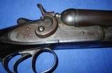 * AntiqueRUSSELL 12 Ga DOUBLE SxS HAMMER SHOTGUN BELGIUM - 19 of 20