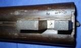 * AntiqueRUSSELL 12 Ga DOUBLE SxS HAMMER SHOTGUN BELGIUM - 10 of 20
