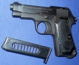 * Vintage 1934 BERETTA MILITARY PISTOL 1944 NAZI ACCEPTANCE WITH HOLSTER - 16 of 20