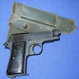 * Vintage 1934 BERETTA MILITARY PISTOL 1944 NAZI ACCEPTANCE WITH HOLSTER - 1 of 20