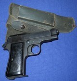 * Vintage 1934 BERETTA MILITARY PISTOL 1944 NAZI ACCEPTANCE WITH HOLSTER - 2 of 20