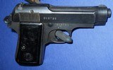 * Vintage 1934 BERETTA MILITARY PISTOL 1944 NAZI ACCEPTANCE WITH HOLSTER - 8 of 20