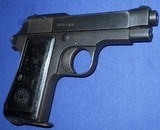 * Vintage 1934 BERETTA MILITARY PISTOL 1944 NAZI ACCEPTANCE WITH HOLSTER - 4 of 20