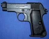* Vintage 1934 BERETTA MILITARY PISTOL 1944 NAZI ACCEPTANCE WITH HOLSTER - 13 of 20