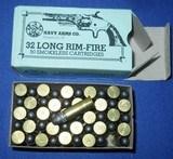 * Vintage NAVY ARMS .32 RIMFIRE RF LONG FULL BOX SURE FIRE