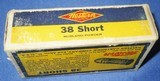 * Vintage WESTERN .38 RIMFIRE RF AMMO FULL BOX 50 NOS - 5 of 6