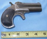 * vintage remington double derringer .41 rf type 3 perfect hinge