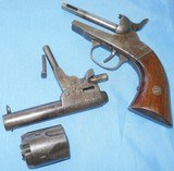 * antique bacon percussion revolver project