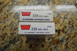 338 Win Mag Brass Winchester (NEW)