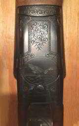 Winchester Model 21 Custom 12 gauge - #5/6 engraved - 5 of 15