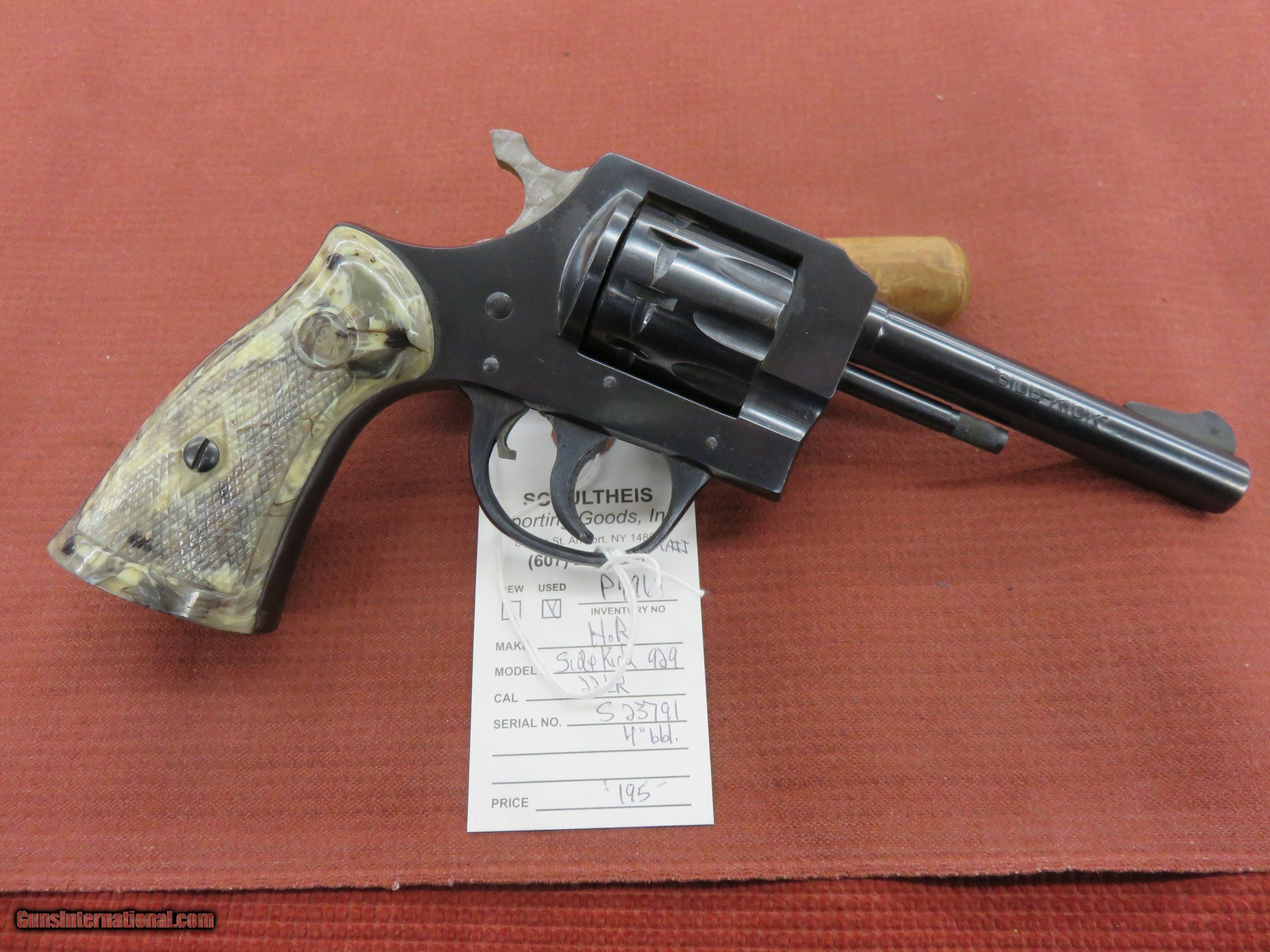harrington and richardson 929 serial numbers
