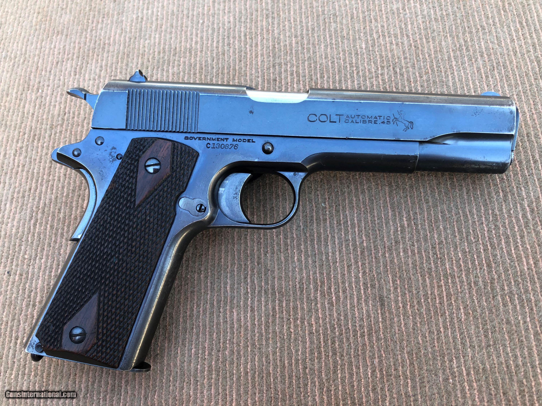 Very Nice Pre-War Original Colt 1911  45cal  Government