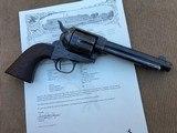 *NICE! Antique Colt SAA U.S. Artillery Revolver .45cal. O.W. Ainsworth Era Early Frame #2597 Factory Letter*