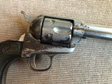 "Antique 1888 Colt Frontier Six Shooter 44/40 Nickel 7 1/2"" Barrel Eagle Grips w/Letter *Untouched* - 3 of 13"