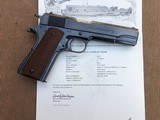 *HIGH CONDITION* Colt Pre War .38 Super 1911-A1 Mfg. 1929 1st yr. Introduction w/Factory Letter ! - 15 of 15