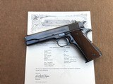 *HIGH CONDITION* Colt Pre War .38 Super 1911-A1 Mfg. 1929 1st yr. Introduction w/Factory Letter !