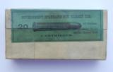 Winchester Sealed Box 45-70 Target 1890's - 1 of 6