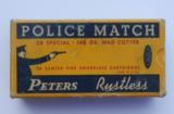 Peters Police Match 38 SPL Rustless - 1 of 7