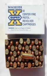 NOS Winchester 45 Winchester Magnum 230 Grain F.M.C 100 Rounds - 1 of 2