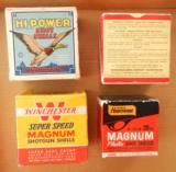Federal, Remington, Wards & Winchester Shotgun Shell Boxes All Full & Correct - 6 of 10