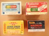 Federal, Remington, Wards & Winchester Shotgun Shell Boxes All Full & Correct - 2 of 10