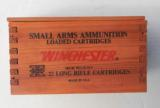 Winchester Wood Box with Brick 22 Long Rifle 500 Cartridges - 3 of 7