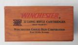 Winchester Wood Box with Brick 22 Long Rifle 500 Cartridges - 1 of 7
