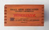 Winchester Wood Box with Brick 22 Long Rifle 500 Cartridges - 2 of 7