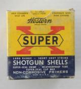 Western Cartridge Co. Super X 28 gauge Full Box Paper Shells