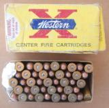 Winchester-Western 45 Colt 255 Grain Lubaloy 1960's