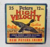 Peters High Velocity Full Box 12 Gauge Mallard Paper Shells