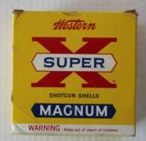 Mammoth Box of Western Super X Magnum 3 1/2 Inch 10 Gauge Paper Shells Full & Correct