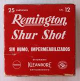 Remington Shur Shot 12 ga. Full & Correct 00 Buck Mexican